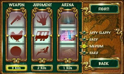 Screenshots of the FaceFighter Gold for Android tablet, phone.