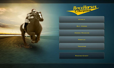 Screenshots of the Race Horses Champions for Android tablet, phone.