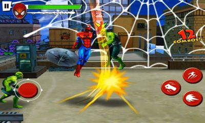 Screenshots of the Spider-Man Total Mayhem HD for Android tablet, phone.