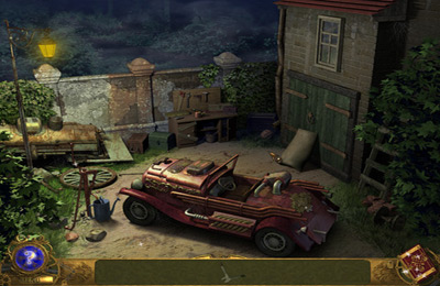 Screenshots of the Detective Agency 3. Old painting's ghost game for iPhone, iPad or iPod.