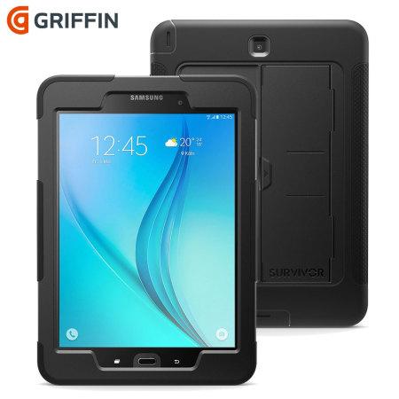 Coque Samsung Galaxy Tab A 97 Griffin Survivor Slim Noire