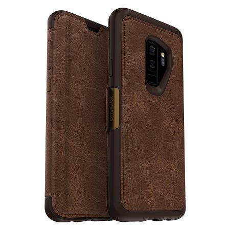 Otterbox Strada Samsung Galaxy S9 Plus Case Brown