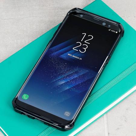 Olixar Exoshield Tough Snap On Samsung Galaxy S8 Plus Case