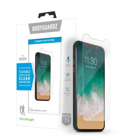 BodyGuardz Ultra Tough iPhone X Screen Protector