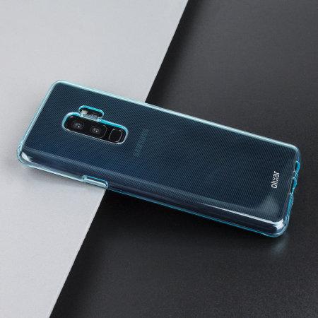 Olixar Flexishield Samsung Galaxy S9 Plus Gel Case Coral