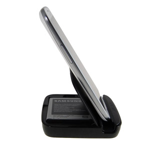Genuine Samsung Galaxy S3 Holder and Battery Charger - EB-H1G6LLEGSTD
