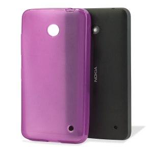 Flexishield Nokia Lumia 635 / 630 Gel Case - Purple