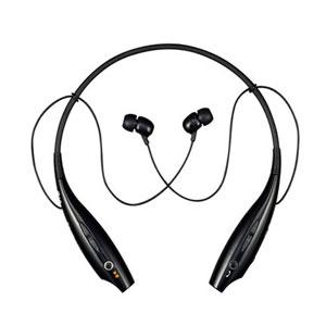 LG Tone HBS700 Bluetooth Wireless Headset - Black