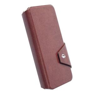 Krusell Kalmar iPhone 6 Flip Wallet Case - Brown