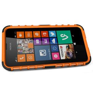 Armourdillo Hybrid Nokia Lumia 630 Protective Case - Red