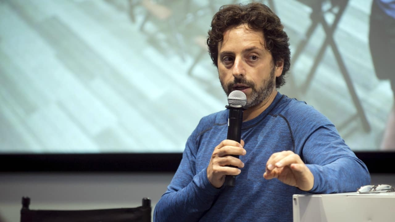 Rank 7   Sergey Brin is an American business magnate, computer scientist and Internet entrepreneur. Together with Larry Page, he co-founded Google. Brin was the president of Google's parent company, Alphabet Inc., until stepping down from the role on December 3, 2019. He and Page remain at Alphabet as co-founders, controlling shareholders, board members, and employees. As of October 2021, Brin is the 7th-richest person in the world, with an estimated net worth of $115.2 billion.