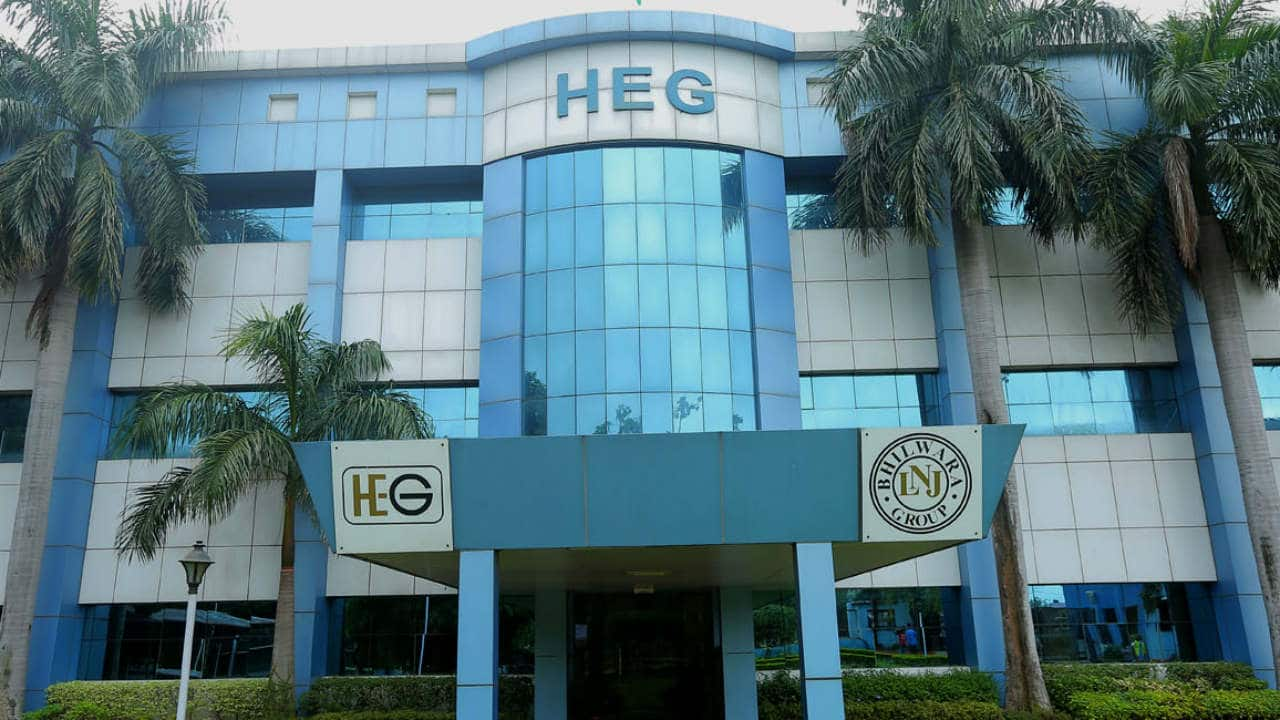 HEG: The company reported loss at Rs 16.08 crore in Q4FY21 against loss of Rs 376.96 crore in Q4FY20, revenue rose to Rs 380.48 crore from Rs 374.44 crore YoY.