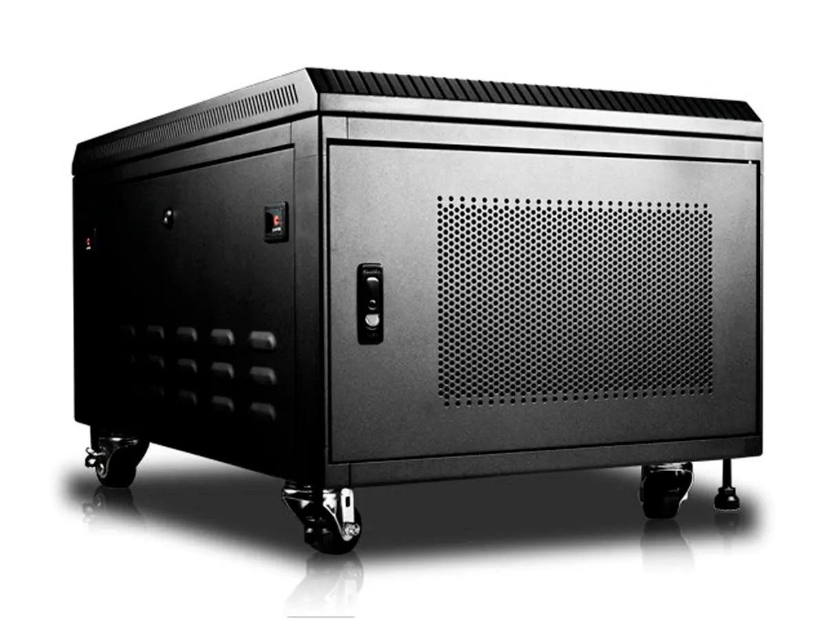 monoprice 6u 900mm depth rack mount server cabinet gsa approved