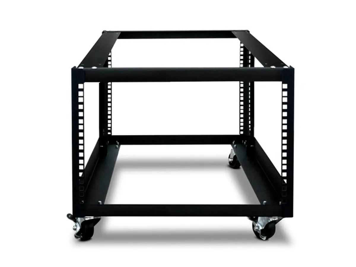 monoprice 6u 900mm open frame rack