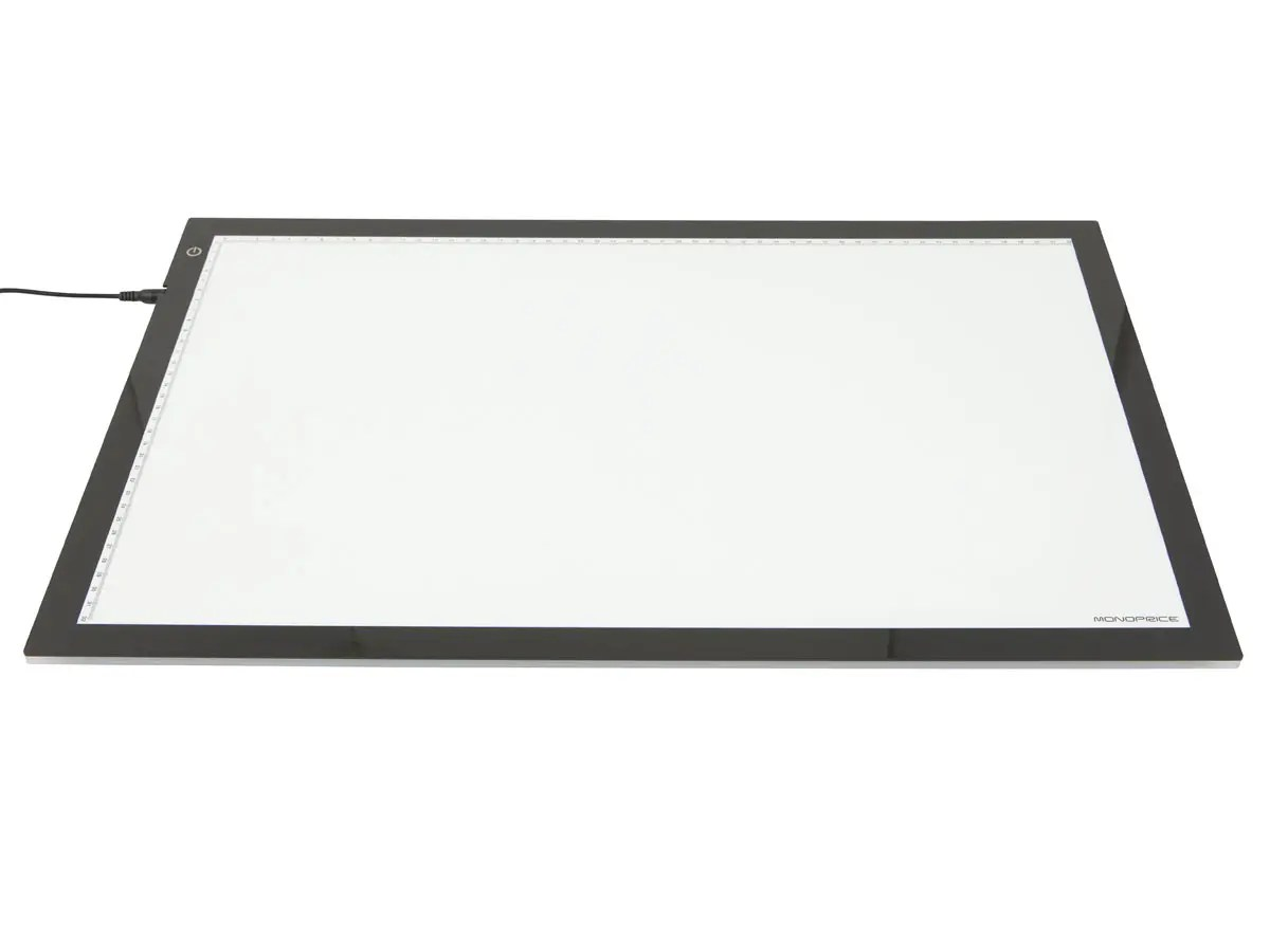 Monoprice Ultra Thin Light Box For Artists Designers And