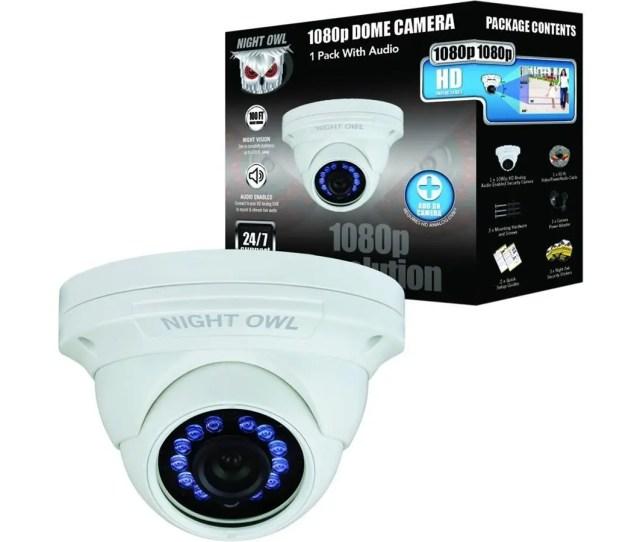 Night Owl Cm Hda10w Dma 2 Megapixel Surveillance Camera 1 Pack Color