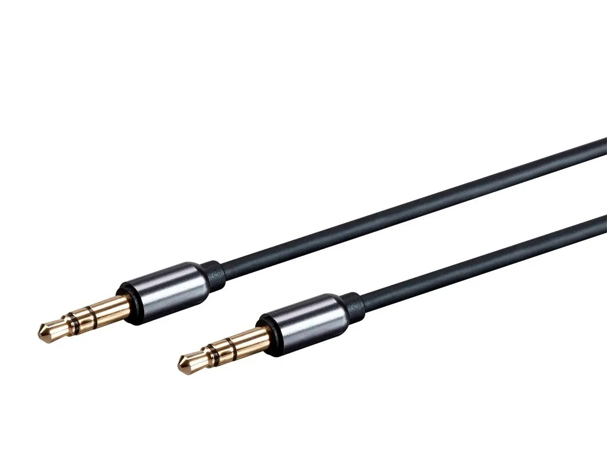 Monoprice Onyx Series Auxiliary 3 5mm Trs Audio Cable 1ft