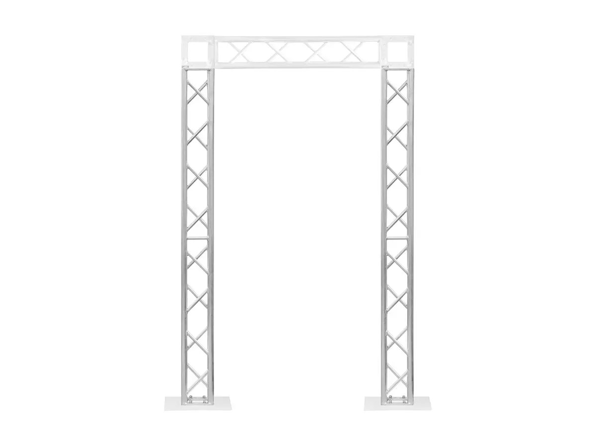 Stage Right By Monoprice 8in X 8in Lite Duty Box Truss 2m 6 56ft With Hardware