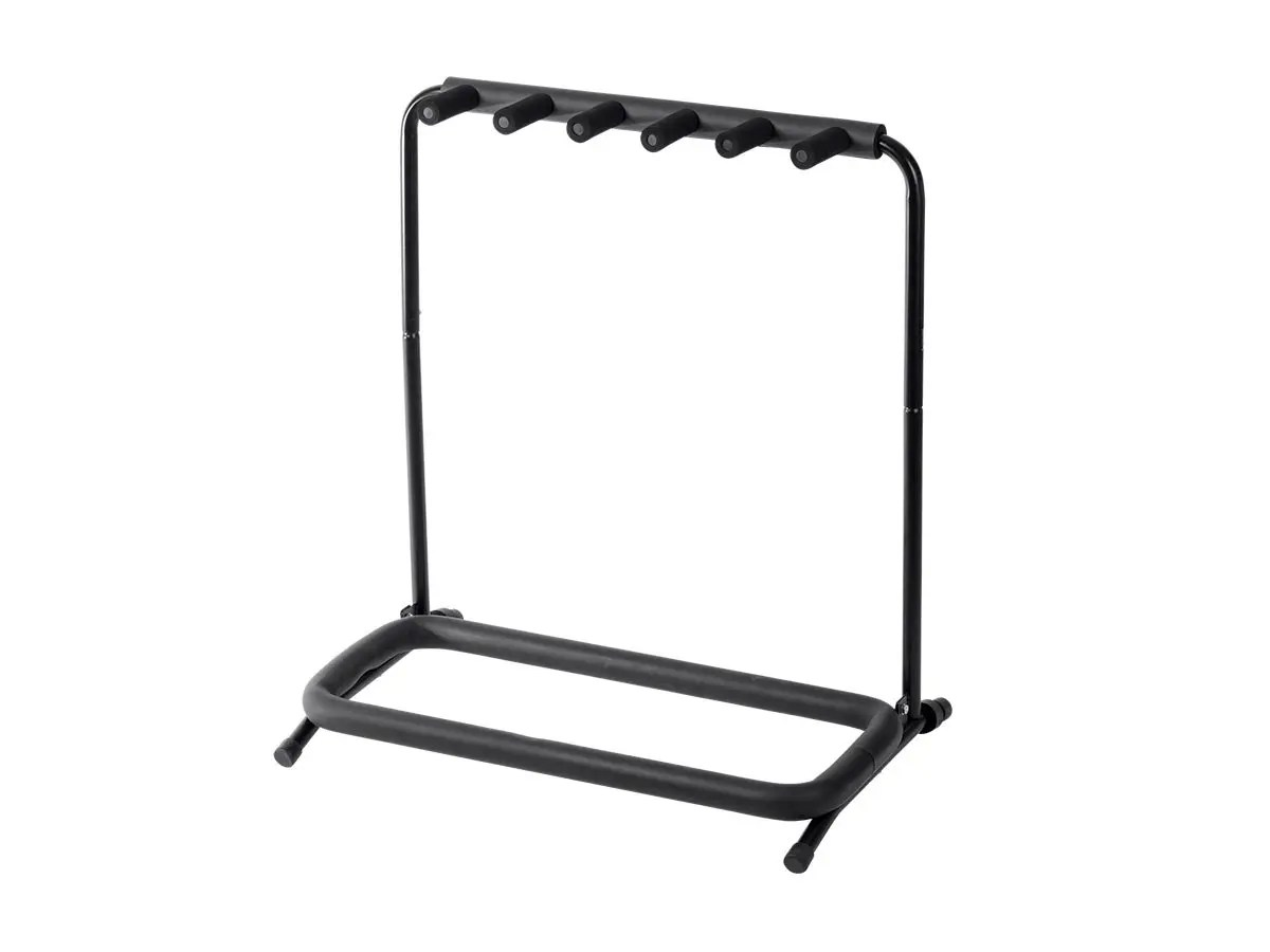 Stage Right By Monoprice Multi Guitar Stand Folding 5 For Acoustic And Electric Guitar Or Bass