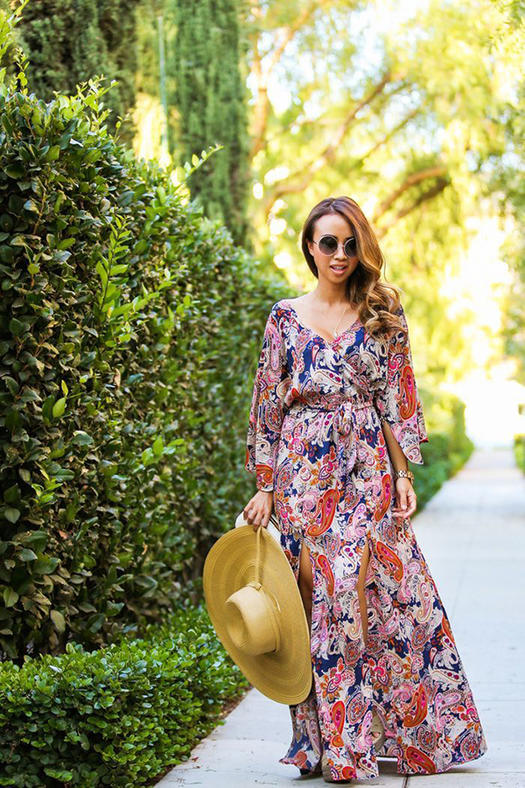 14 Bohemian Maxi Dresses You Need In Your Life