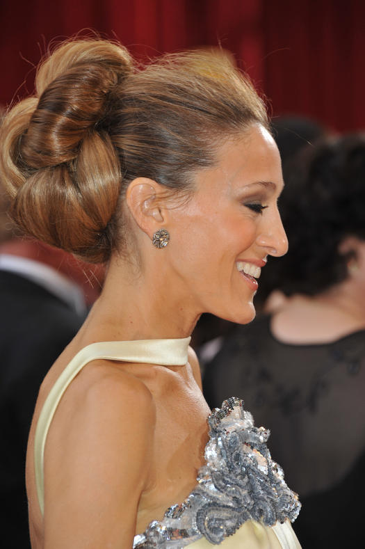 Images Of Chignon Hairstyles