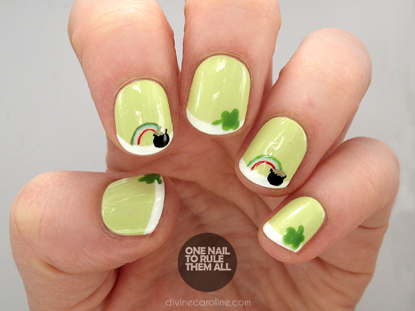 Lucky Us: St. Patrick's Day Nail Designs to Show Off ...