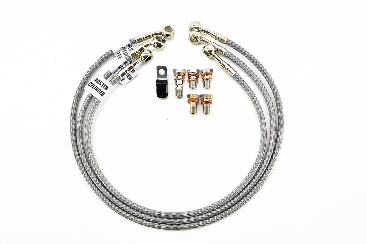 Galfer 2 Line Front Amp Rear Brake Line Kit With Clutch Line