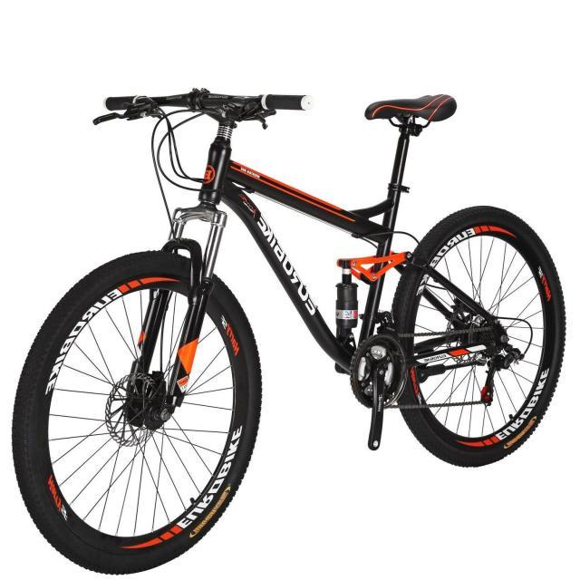 """27.5"""" Full Suspension Mountain Bike Shimano 21 Speed"""