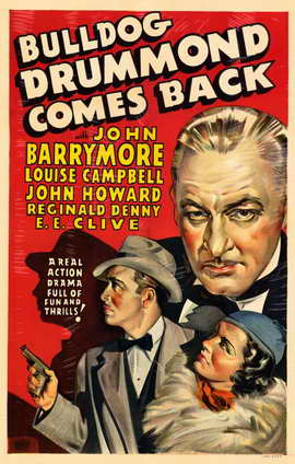 Bulldog Drummond Comes Back Movie Posters From Movie