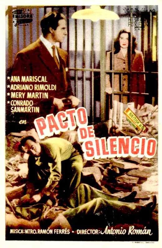 Poster do filme Pacto de Silêncio