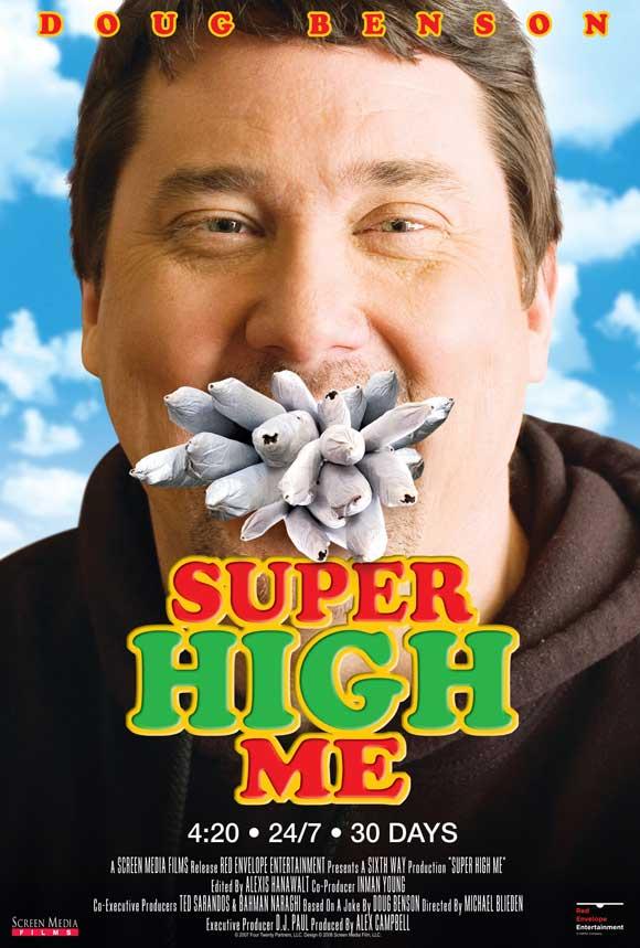 Poster do filme Super High Me