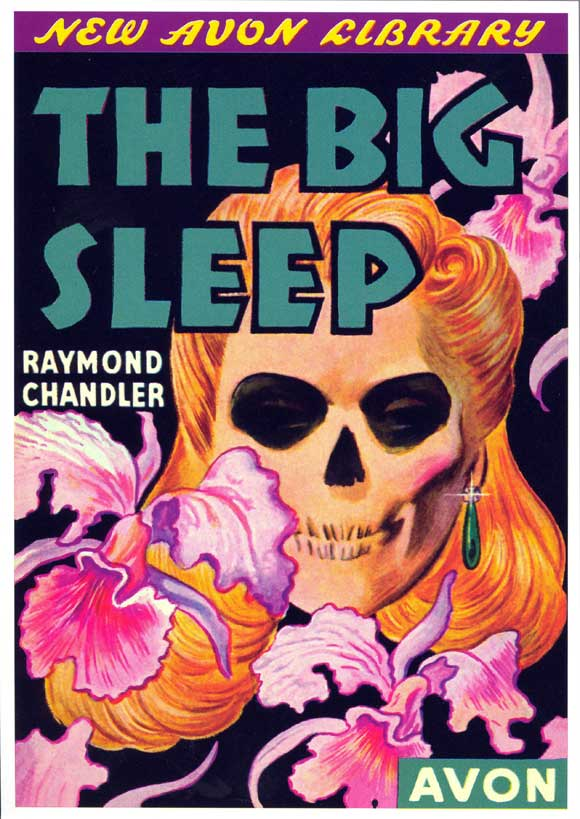 Noir Crime Fiction The Big Sleep Vintage Cover