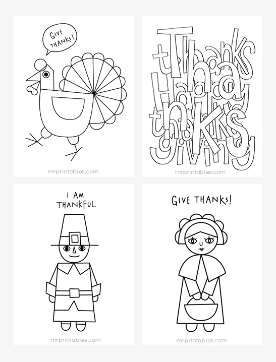 thanksgiving coloring pages printables # 21