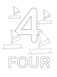 coloring pages by number # 21