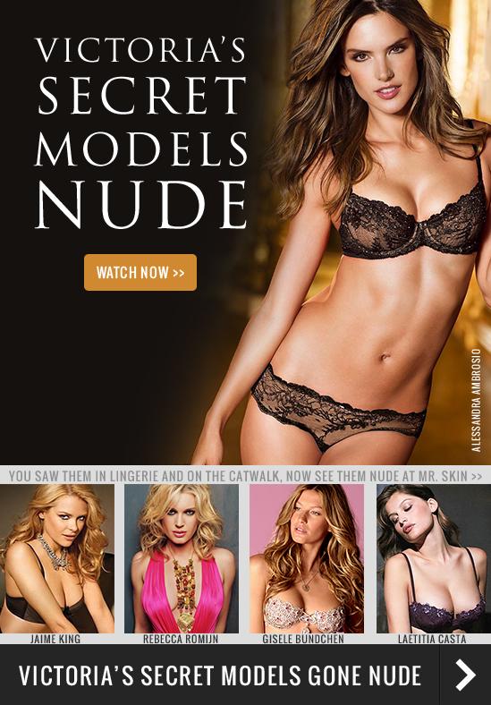 Victorias secret nude model