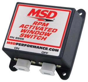 MSD 8956 Window RPM Activated Switch  MSD Performance