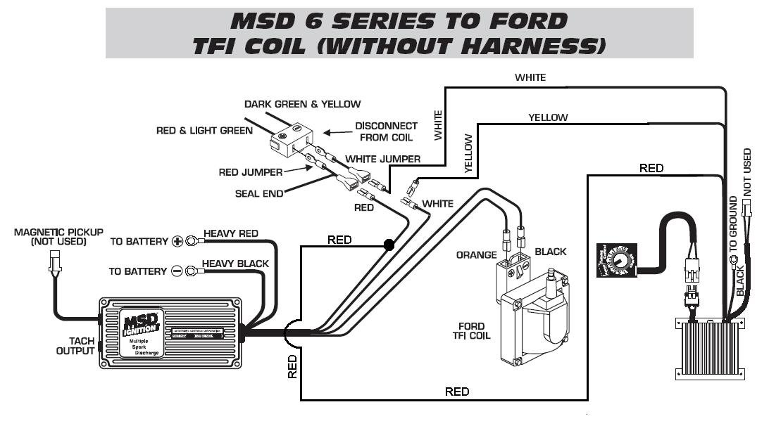 Ford TFI To Timing Control To 6420 WO Harness  MSD Blog