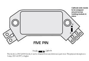 5 Pin HEI Module Diode Fix  MSD Blog