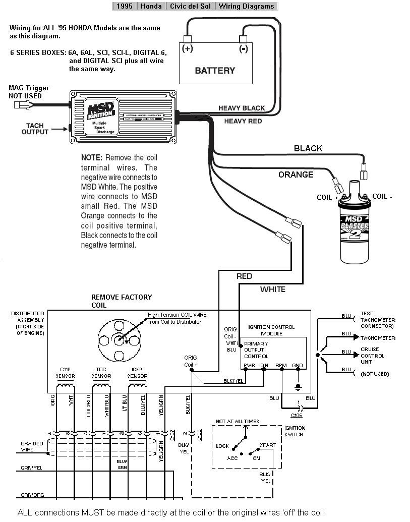 Wiring Diagram Ignition Switch : Honda civic ignition switch wiring diagram