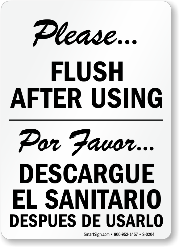 Bathroom Signs Cleanliness funny bathroom signs about flushing : brightpulse