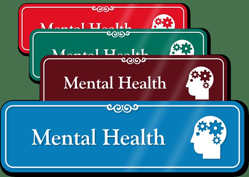 Mental Health Symbols Signs