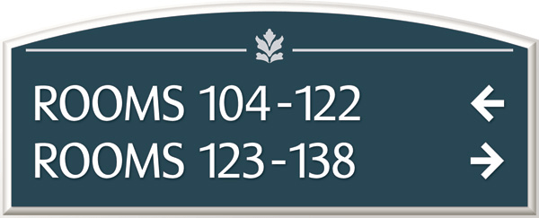 Custom Directory Signs Amp Room Directory Signs Hotel Signs