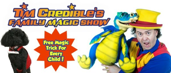 Tim Credible's Family Magic Show | My Guide Melbourne