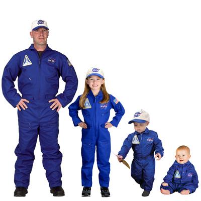 nasa flight suit costume