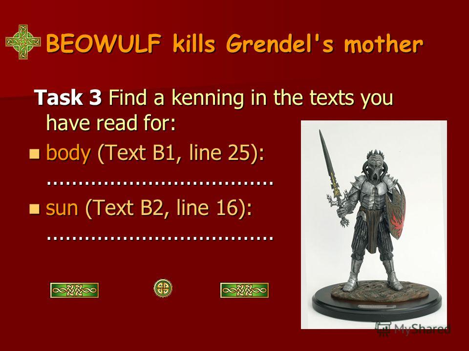 Old English Literature Beowulf