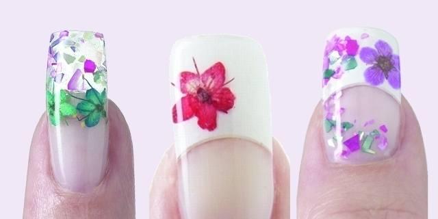 Dry Flower Nail Art Decoration