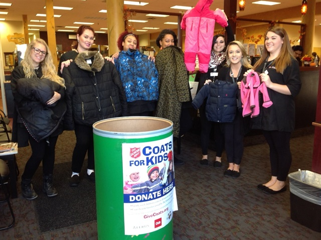 Minnesota School Of Cosmetology Msc Is Collecting Donations Coats From Their Clients To Be Donated Children In Area