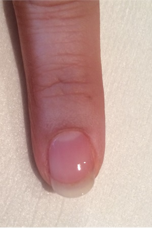 Apply A Base Coat To Properly Prepped Nails Making Sure Cap The Free Edge Cure For 30 Seconds In An Led L