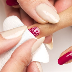 How To Valentine S Day Fl Nail Art