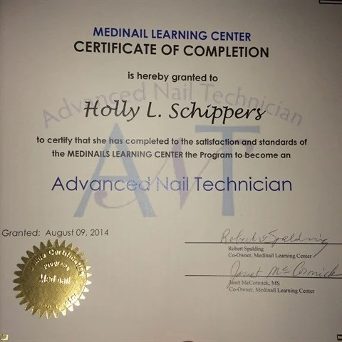 Nail Technician Professional Diploma Distance Learning Academy